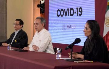 Conferencia encabezada por Hugo López-Gatell, subsecretario de Prevención y Promoción de la Salud