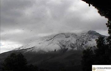 En las últimas 24 horas, mediante el sistema de monitoreo del volcán Popocatépetl se identificaron 116 exhalaciones acompañadas de vapor de agua, gases volcánicos y ligeras cantidades de ceniza.
