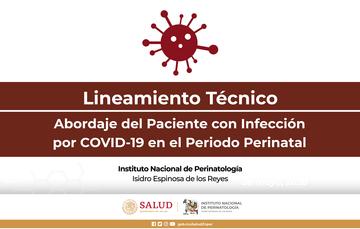 LINEAMIENTO TÉCNICO ABORDAJE DEL PACIENTE CON INFECCIÓN POR COVID-19 EN EL PERIODO PERINATAL