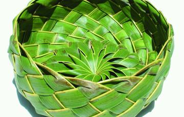 La tradición del tejido de la hoja de palma, es un saber ancestral digno de reconocimiento.