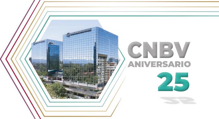 CNBV conmemora 25 años de su creación