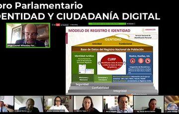 Foro Parlamentario  Identidad y Ciudadanía Digital