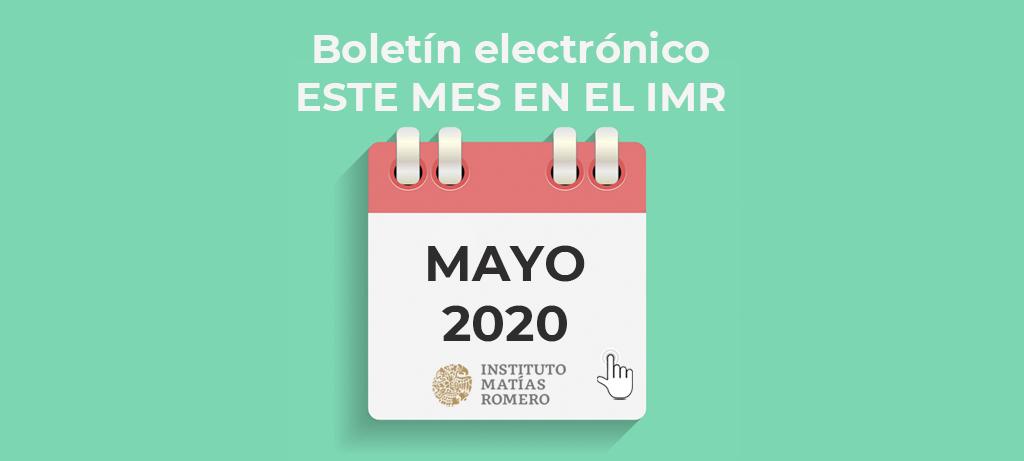 Este mes en el IMR - mayo 2020