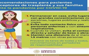 Si recibiste un trasplante, apóyate con una persona ante la situación de COVID-19.