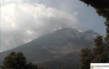 En las últimas 24 horas, mediante el sistema de monitoreo del volcán Popocatépetl se identificaron 177 exhalaciones acompañadas de gases volcánicos y en ocasiones de ligeras cantidades de ceniza. Además, se registraron 118 minutos de tremor.