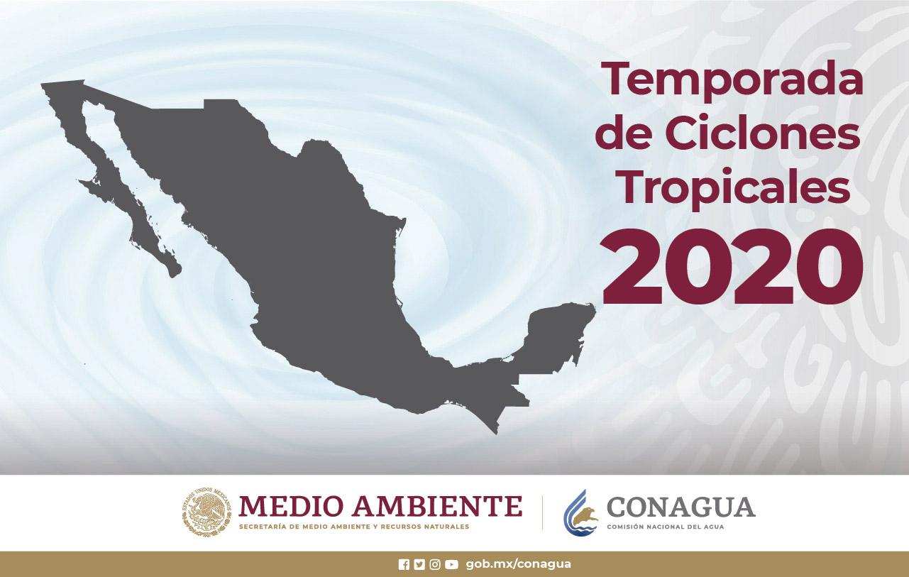 Imagen de la Temporada de Ciclones Tropicales 2020.
