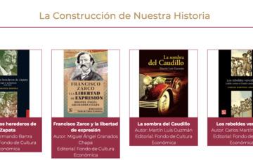 Boletín No. 132 Podrán maestras y maestros compartir colección La Construcción de Nuestra Historia con sus alumnos: SEP