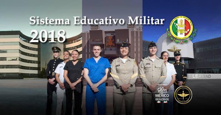 Cadetes de los Planteles del Sistema Educativo Militar.