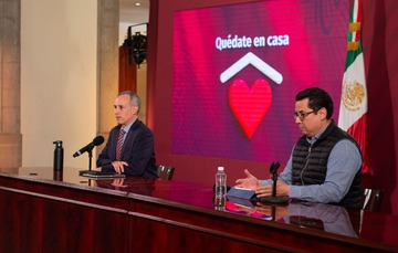 Informe diario sobre coronavirus COVID-19 en México