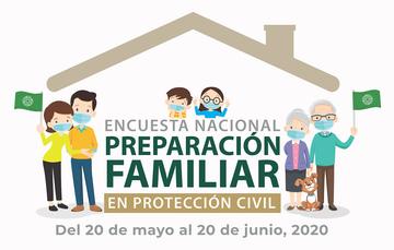 Encuesta Nacional Preparación Familiar en Protección Civil