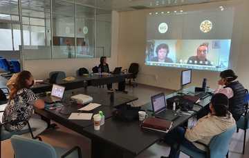 Con dos jornadas de trabajo efectuadas vía remota, se llevó a cabo el cierre del proyecto de fortalecimiento de las capacidades técnicas en metrología inorgánica con el grupo de trabajo con CODELCO.