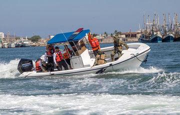 La Secretaría de Agricultura y Desarrollo Rural informó que, durante el período de confinamiento con motivo del COVID-19, la Comisión Nacional de Acuacultura y Pesca (Conapesca), en coordinación con la Secretaría de Marina-Armada de México, continúa con l