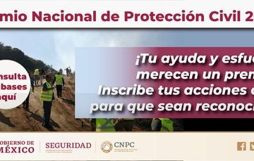Premio Nacional de Protección Civil 2020