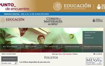 Ofrece INEA folletos para reforzar aprendizaje