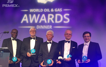 Recibe Pemex premio a la mejor petrolera estatal del año