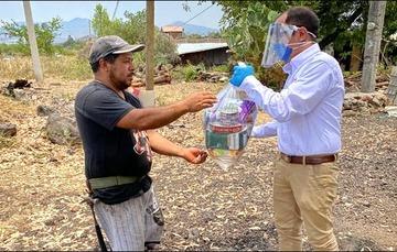 Vende DICONSA 60 mil despensas al gobierno municipal de Morelia