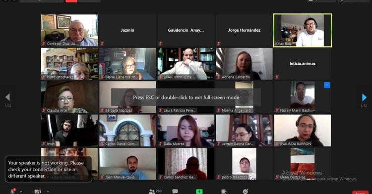 Reunión virtual de arranque de capacitaciones ConTacto Joven
