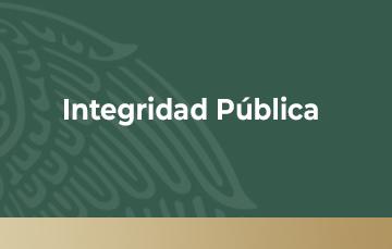 Banner integridad pública
