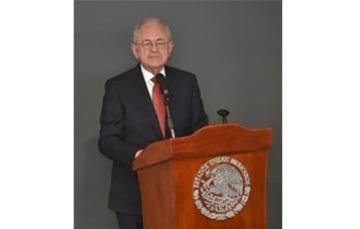 Ceremonia del 35 aniversario del lanzamiento del Morelos I