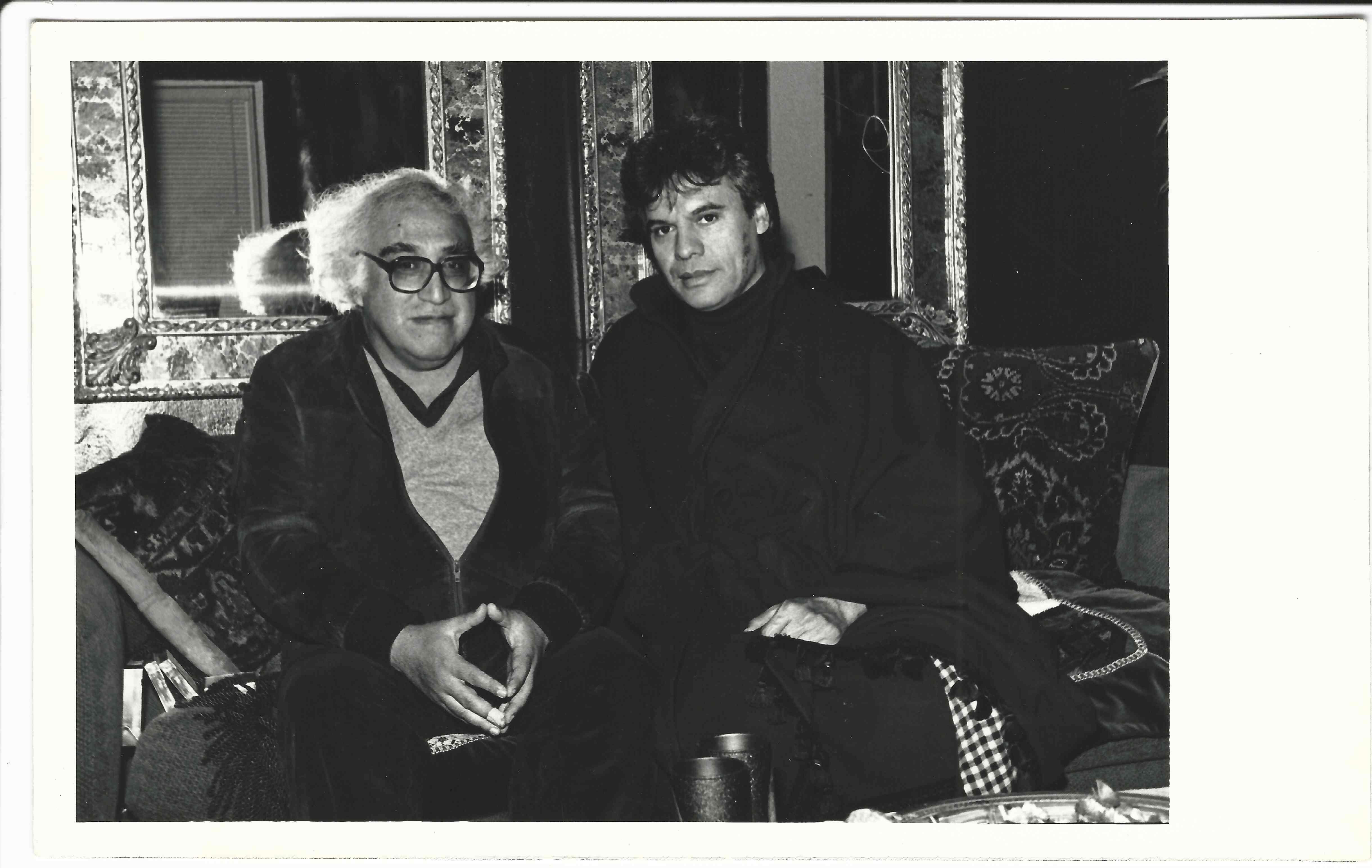 Carlos Monsiváis y Juan Gabriel