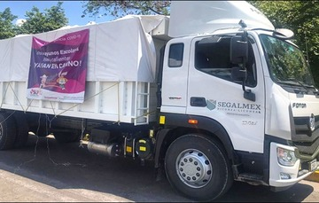 Participa DICONSA en programa estatal de apoyo alimentario de San Luis Potosí