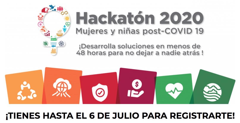 Hackatón 2020: mujeres y niñas post COVID-19