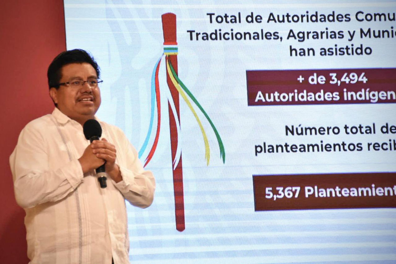 A partir del diálogo, el Gobierno de México construye el bienestar de los pueblos indígenas y afromexicano