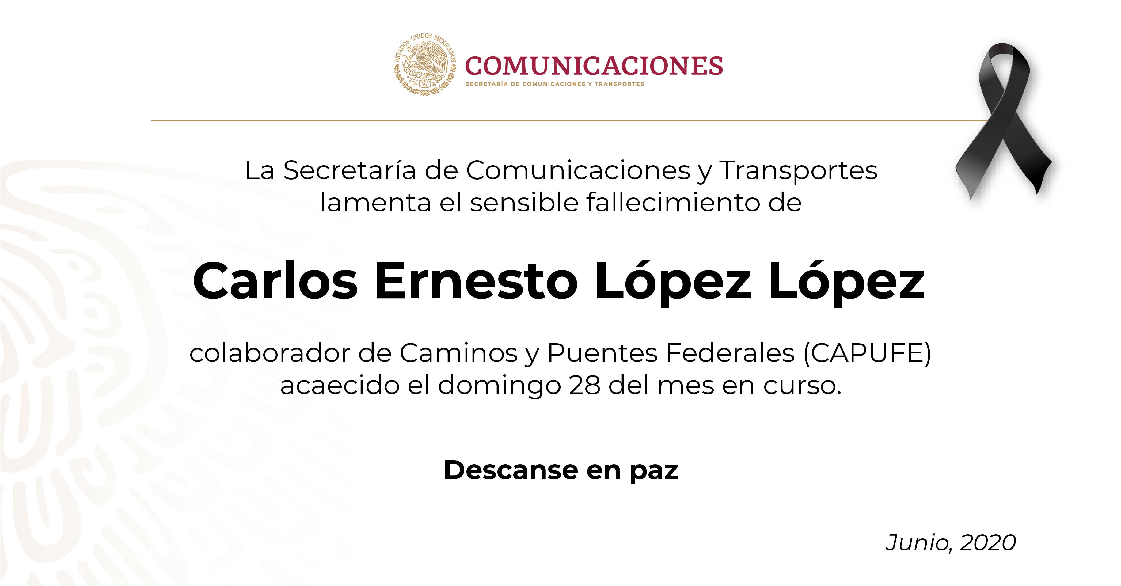 Carlos Ernesto López lópez