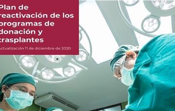 Conoce el Plan de reactivación de los programas de donación y trasplantes ante COVID-19
