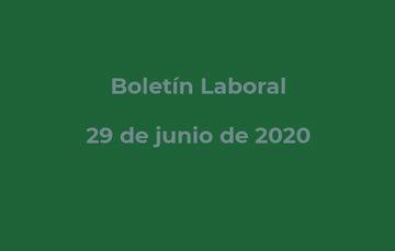 Consulta el Boletín Laboral
