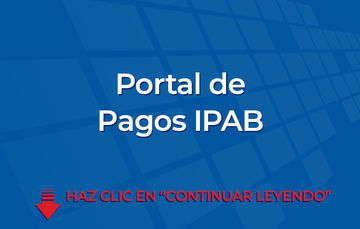 Portal de Pagos IPAB.