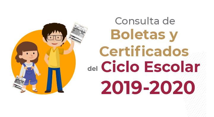 Consulta de Boletas y Certificados