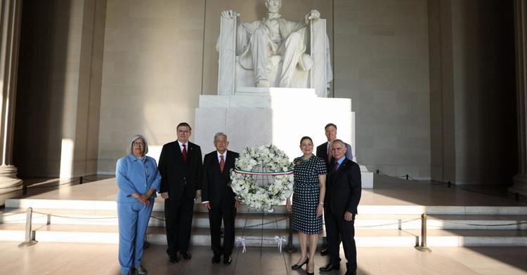 Visita Oficial de Trabajo del presidente Andrés Manuel López Obrador a EE.UU.