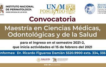Maestría en Ciencias Médicas, Odontológicas y de la Salud