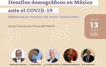 Imagen de la invitación al conversatorio en línea.