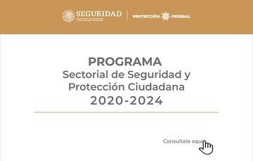 Programa Sectorial de Seguridad y Protección Ciudadana 2020-2024