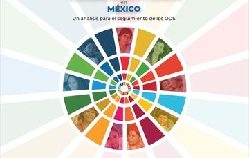 """Portada de la publicación """"Interseccionalidad de las desigualdades de género en México. Un análisis para el seguimiento de los ODS"""""""