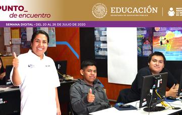 Apoyo en línea para la preparación continua de figuras educativas del INEA