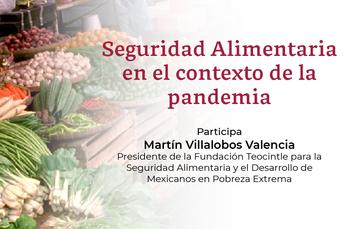 Mesa de Diálogo Indesol: Seguridad Alimentaria en el contexto de la pandemia