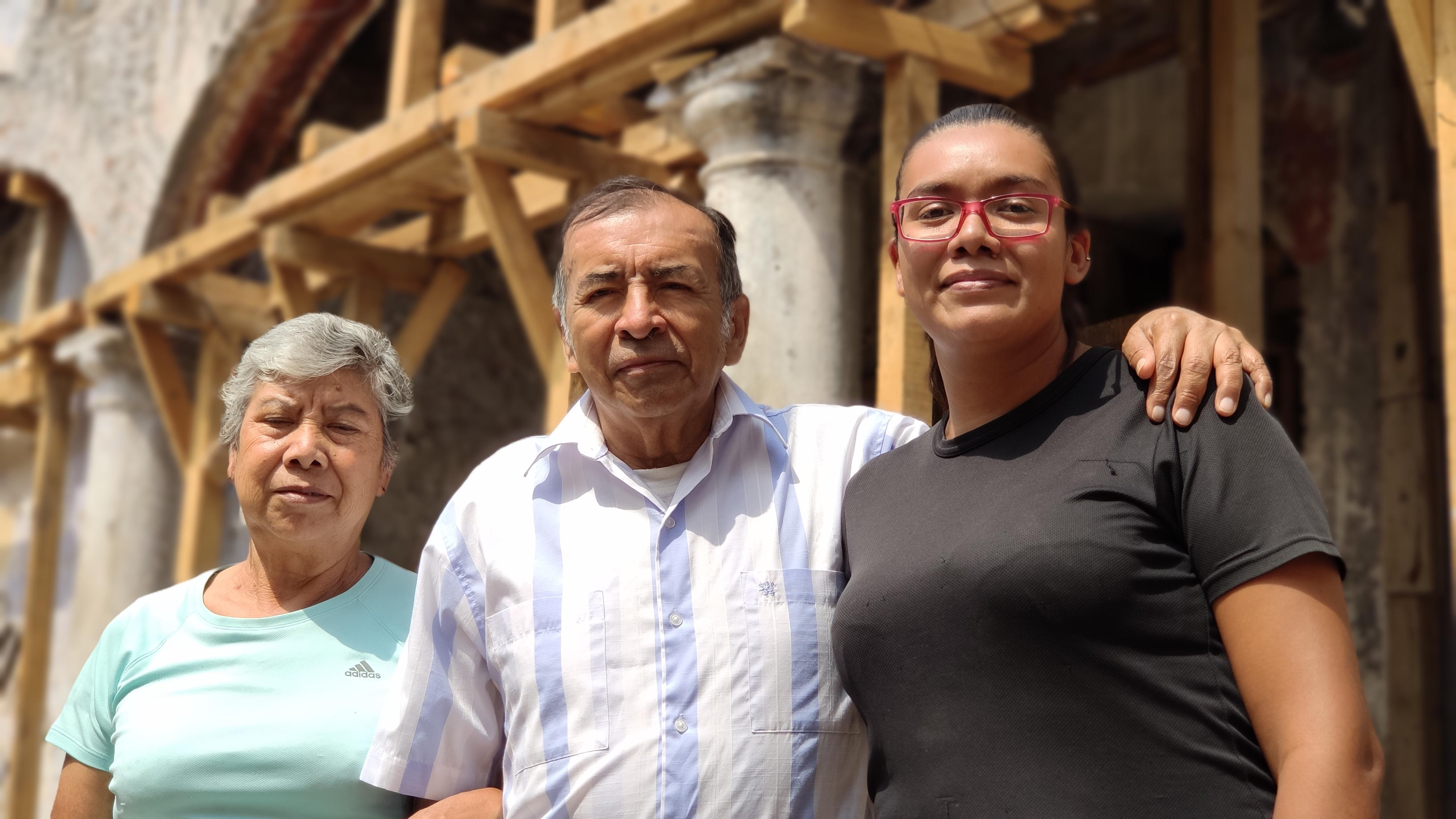 Reconstrucción de viviendas en Puebla