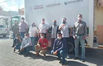 Ofrece lechería Liconsa venta de la canasta básica a los habitantes de Abasolo