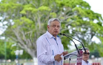 Presidente Andrés Manuel López Obrador desde Oaxaca