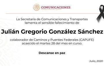 Julián Gregorio González Sánchez