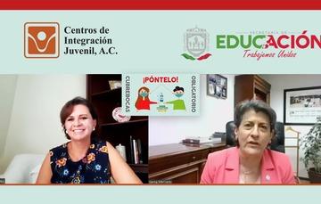 CIJ participó en la jornada educativa del estado de Zacatecas.
