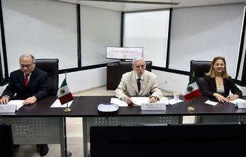 Ceremonia del 10º Aniversario de la creación de la Agencia Espacial Mexicana