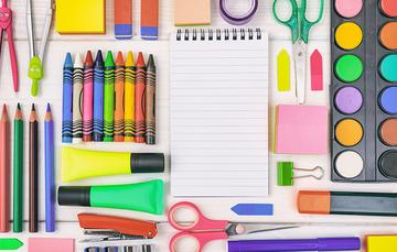 Recomendaciones al comprar útiles escolares