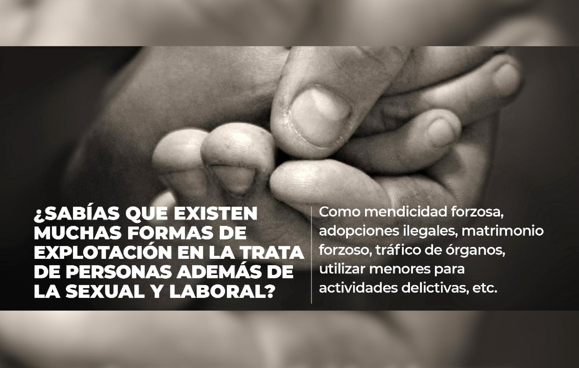 Línea Nacional contra la Trata de Personas 800 5533 000