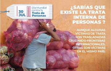 La Trata de personas es un delito que atenta contra los Derechos Humanos de las personas.