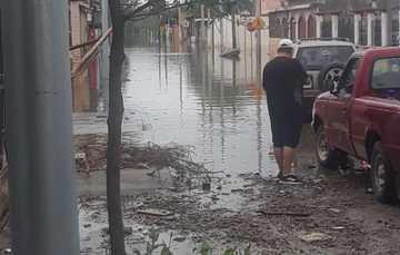 Paso de tormenta Hanna deja 2 tiendas Diconsa siniestradas en Tamaulipas