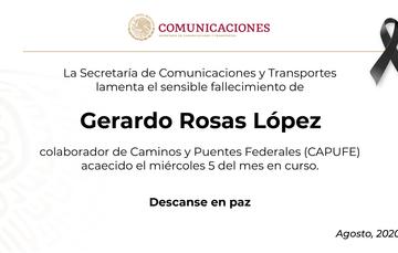 Gerardo Rosas López